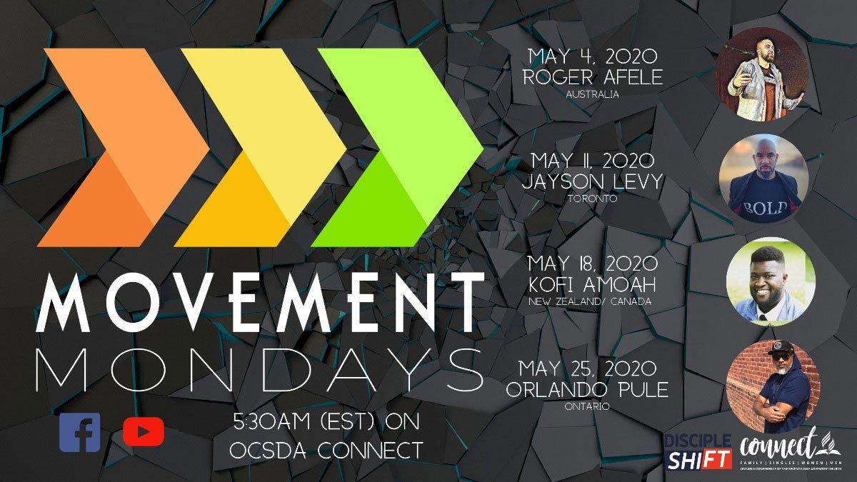 Youth Movement Mondays flyer