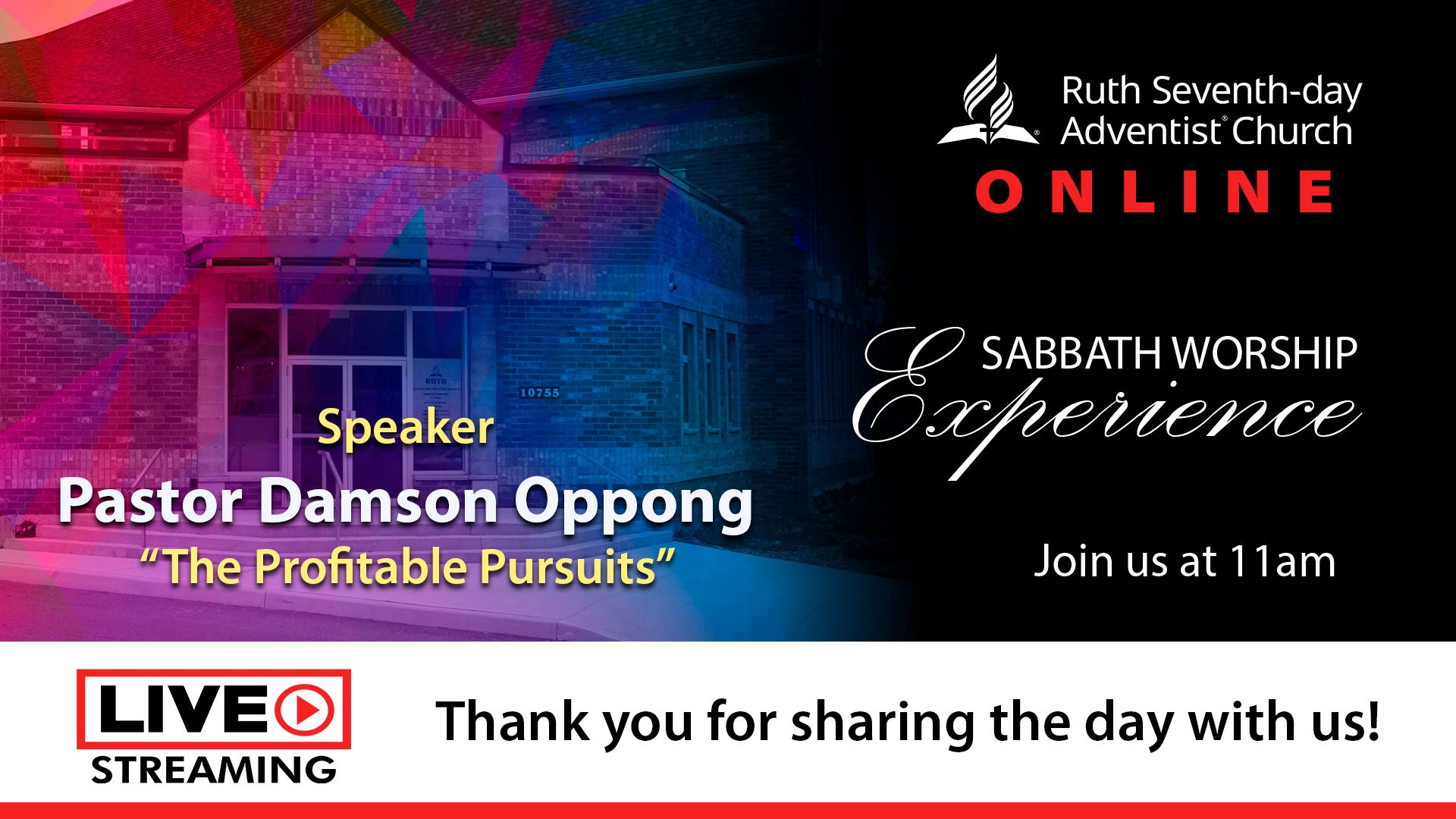 Ruth Online Service July 11