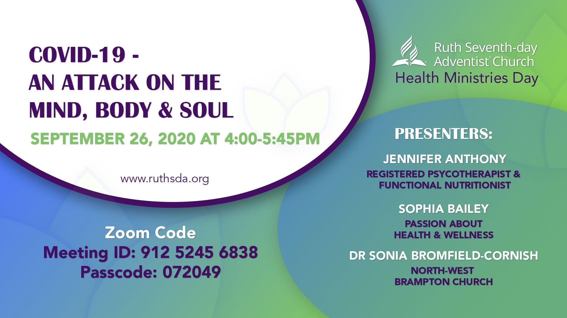 Health Ministry AY Program flyer