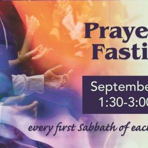 Prayer & Fasting Sep5