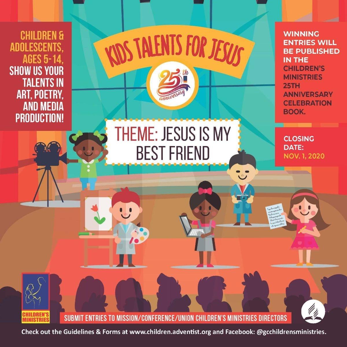 Kis Talents for Jesus
