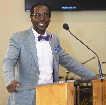 Pastor Andrew Thomas