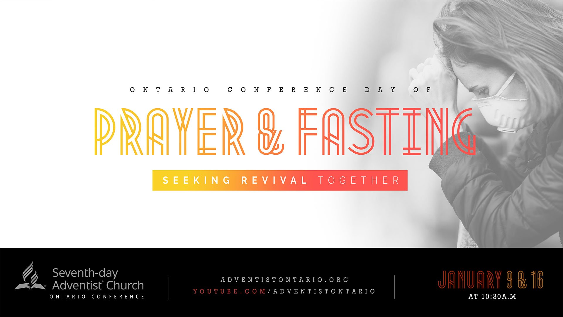 Ontario Conference Prayer & Fasting 2021 flyer