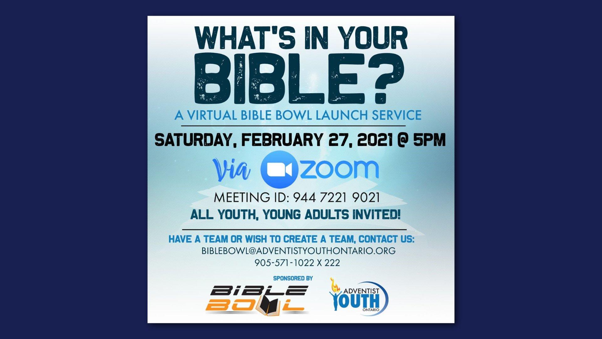 Bible Bowl 2021 HD