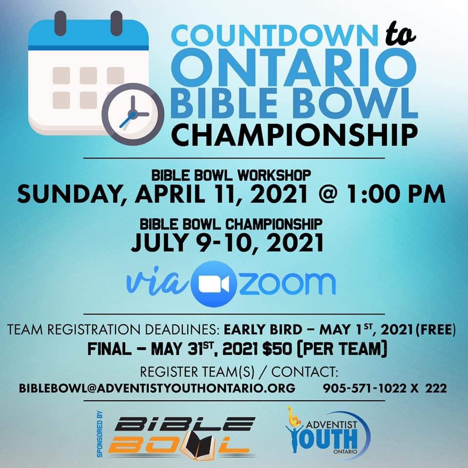 Ontario Bible Bowl Championship2021