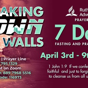 Prayer Summit flyer April