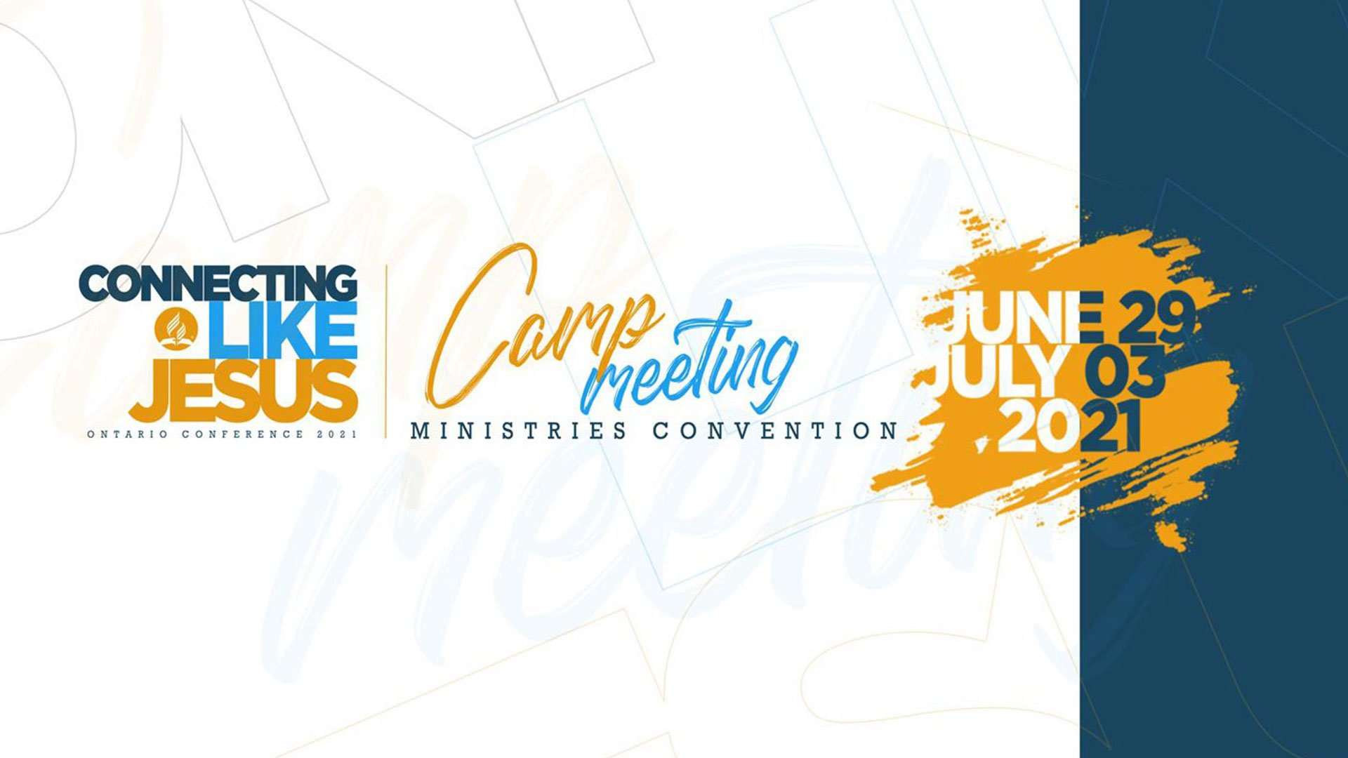 Ontario Conference Camp Meeting 2021