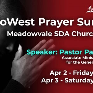 Prayer Summit April 2021