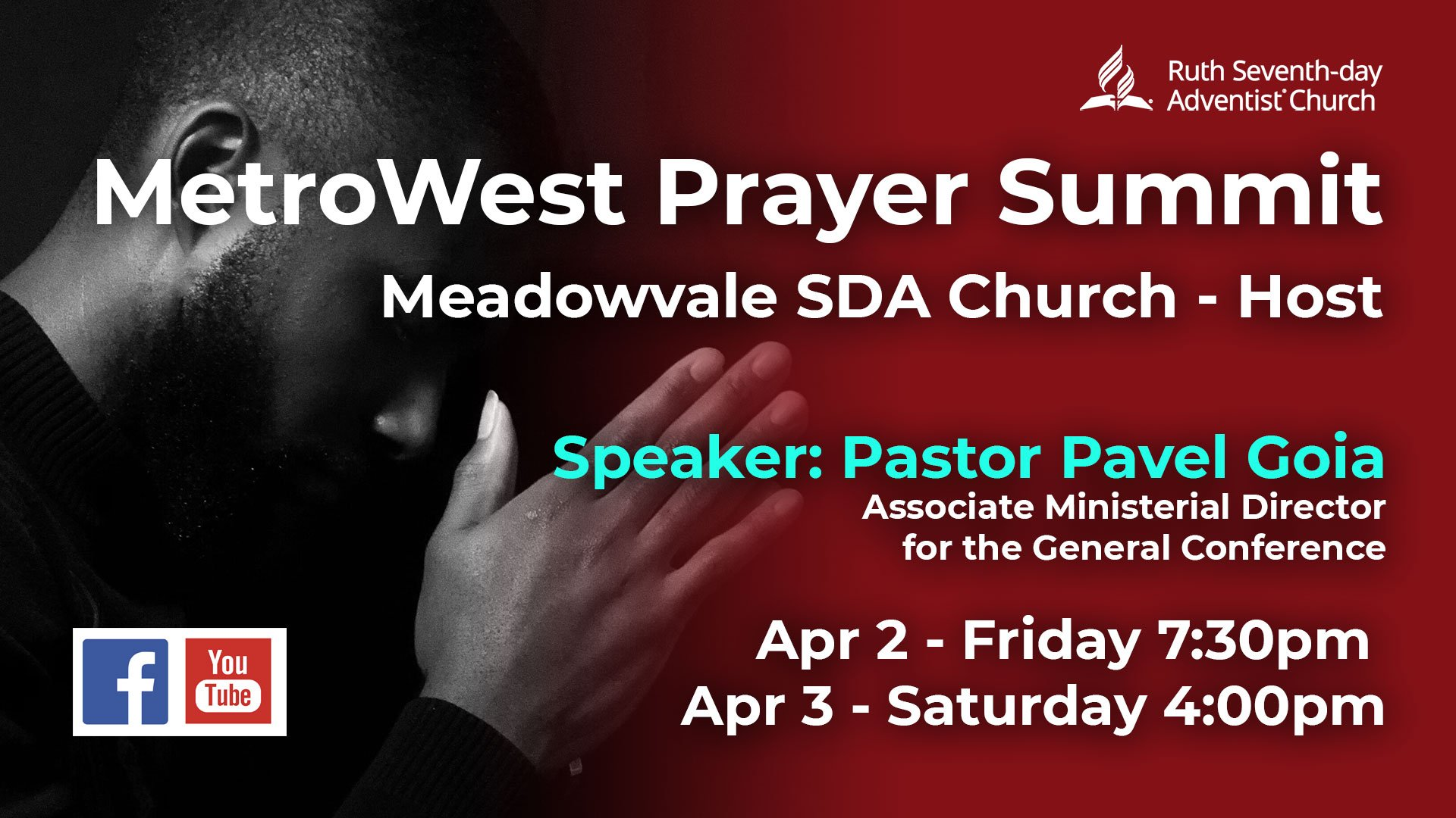 Prayer Summit April 2021