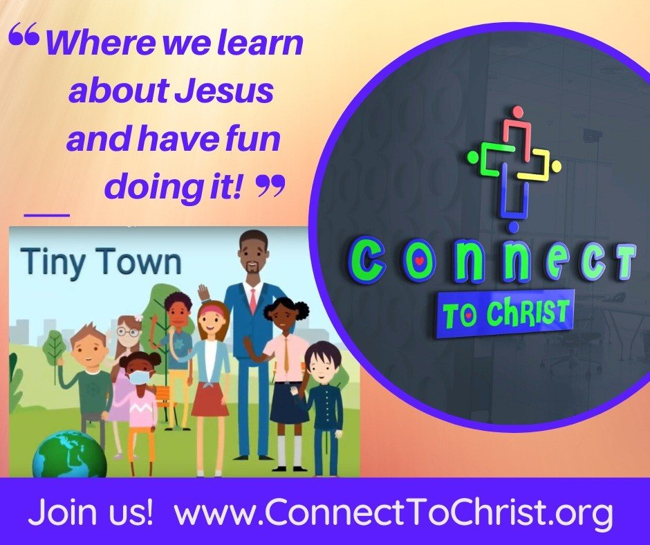 Connect to Christ flyer