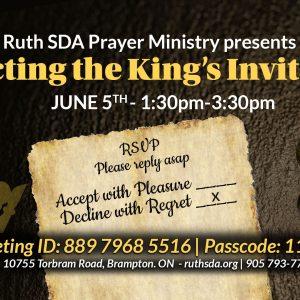 Prayer Fasting June 5 flyer
