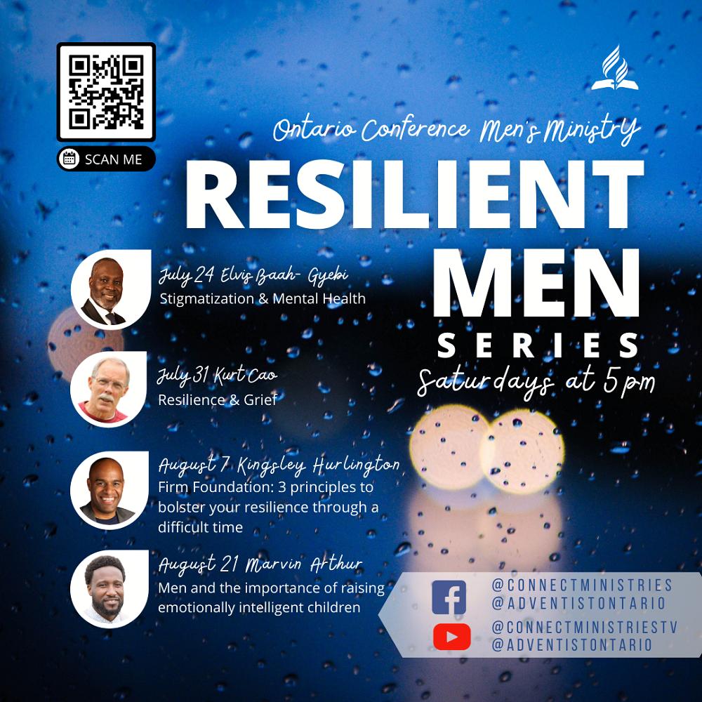 Resilient Men-Mens Ministry Series flyer