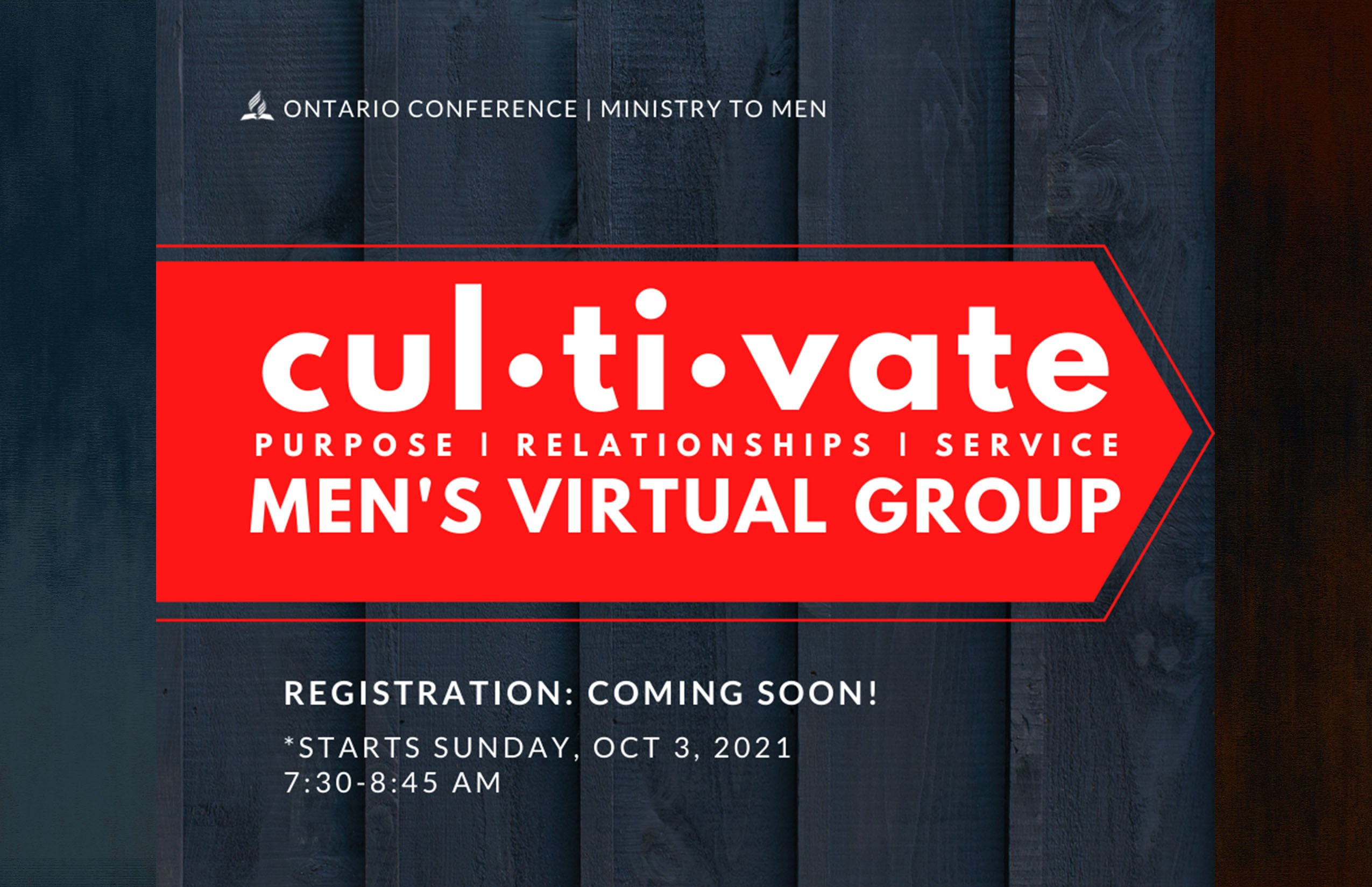 Cultivate Mens Ministry HD